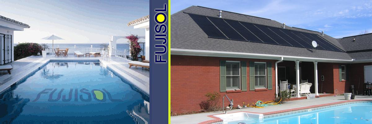 Calentaminto solar de piscinas
